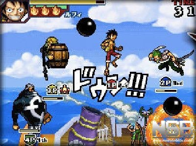 One piece gigant battle ds nosolobits for One piece juego