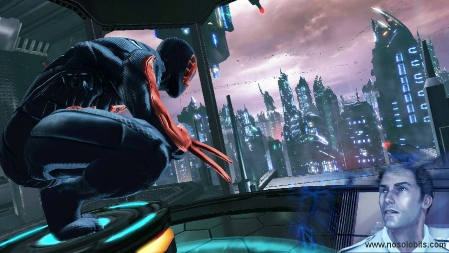 spiderman edge of time playstation 3 nosolobits
