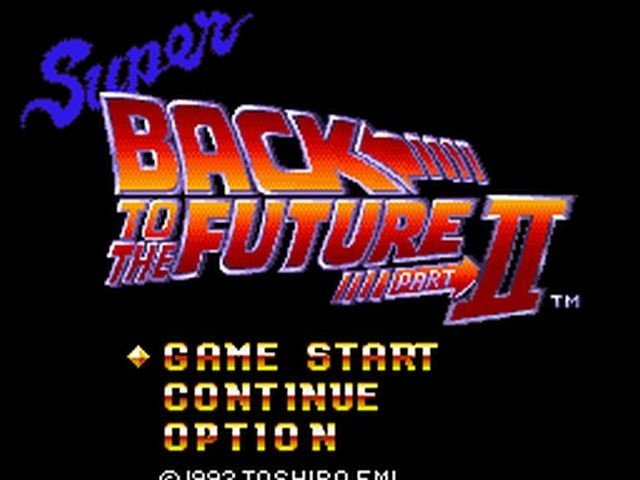 Retro Review Super Back to the Future II 1